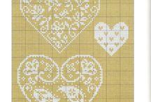 haft krzyżykowy / wzory i dekoracje
