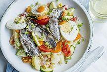 salade ( sardines )