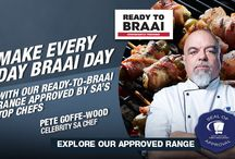 "Entertain Better - The Perfect Braai / Checkers offers a wide range of ""Ready to Braa""i meat for all your braai needs!  Delicious recipes available on their website, allows the women to be creative at braai time as well."