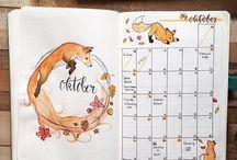 Diary, naptár ötletek