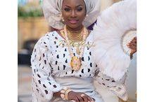Penda choix Mamy wedding / African wedding dress
