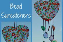 Melted beads decorations