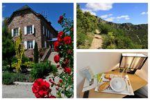 Séjour randonnée St Guilhem le Désert / #La Lozère regorge de plusieurs sentier de randonnée, profitez d'un séjour #randonnée à l'#hôtel Les 2 Rives et partez à la découverte du GR de St Guilhem le Désert pour admirer les merveilleux paysages qu'offre la #Lozère.