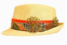 """COLLECTION""""KANAKBATIK""""DE CHAPEAUX / Ma collection consiste à vous présenter mes modèles de chapeaux accessoirisés de BATIK,perles,biais,galons,breloques......"""