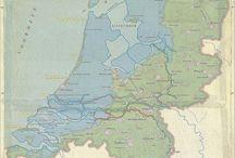 Landkaarten / Van steden en landen