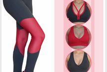 FITNESS ~ rosa goiaba / Peças da coleção Moda Fitness