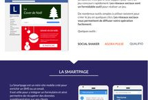 Nos infographies : emailing, sms marketing, relation client, calendrier marketing...