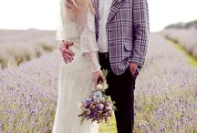 Lavender wedding / We love levander for styling roustic & vintage weddings <3 <3