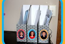 Organization / Ideas on how to organize pictures as well as how to organize with school pictures