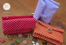 Termékeim / My products / Wallets, handbags and pretty little things I usually make.