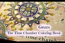 The Time Chamber by Daria Song.Colouring Book