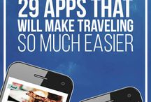 Travel Apps / Useful and essential apps for travel - flights, maps,  accommodation,  city guides,  communication,  trip planning and more