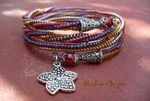 Wires 'n' Beads: Bracelets