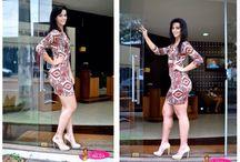 Moda / Vestido estampa étnica