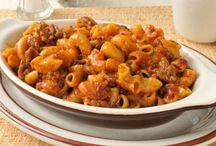Macaroni a la viande