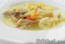 Первые блюда. / Простые супа.