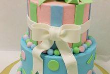 Twin Baby cake