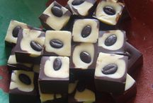 Chocolate Meltaways / Perfect Cubes of Chocolate Meltaways, made with Belgium Chocolate and Coconut Oil, they just simple melt in the mouth.