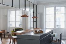 Vetrate Living Kitchen