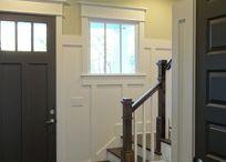 New house front door