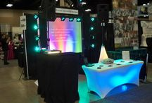 Booths at Wedding Fairs / We attend many Wedding Fairs and Open Houses.  It is a great time to visit with us at a public event.