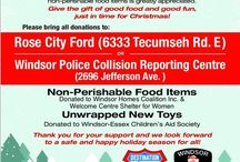 Windsor Police Annual Food & Toy Drive