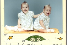 Twins / I'm an identical twin. Funny how our personalities are nothing a like. :o) / by Pearl Roth
