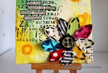 Canvas on the mini / by Tracie Alger