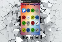 We Promote: Craig's Classified Mobile App / Buy, Sell or swap anything with Craig's Classified Mobile App. Download the App at http://craigsclassifiedmobileapp.jimdo.com