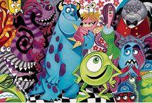 W. Disney - Monster's Inc. - 2001