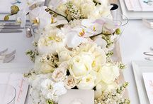 long wedding table flowers