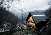 A Shaped Houses / by Ronen Bekerman