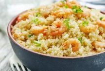 riz quinoa pates