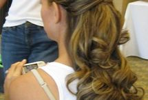 bridesmaid hair ideas  / by Christina Damin