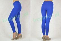 Niebieski jest w modzie! / Do zaprezentowania aż cisną się legginsy w modnym niebieskim kolorze, które sprawdzą na miły początek dnia jak i na wyjście z przyjaciółmi na kawę :)