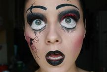 halloween / cool makeup and costumes