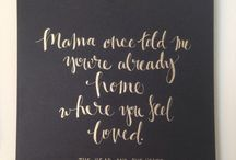 Calligraphy Ideas / by Ashley Youngblood