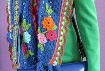 Crochet shawls & scarves