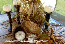 Fall Ideas / Creating Fall Ideas For Home Decor
