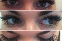 Lashes and makeups