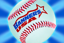 2014 Baseball Banners from Banners USA / Great designs by our awesome customers.