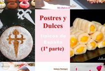 POSTRES Y DULCES TIPICOS
