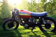 Two wheels and a motor  / Inspiration for my Honda CL 360 Scrambler build