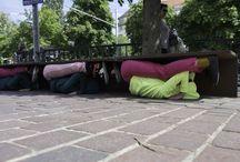 Bodies in Urban Spaces /  Retour en images de « Bodies in Urban Spaces » de Willi Dorner que nous avions présenté du 29 au 31 mai 2014 avec Pôle Sud  dans le cadre du Festival Nouvelles.