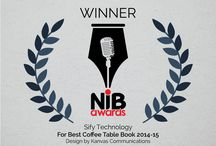 NIB Awards / An NIB award winning coffee table book designed for leading IT (Information Technology) company Sify Technologies Limited - Chennai.