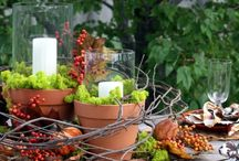 Tischdeko für liebe Gäste