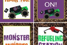 Monster Truck Party!!!! / by Mitten Mindset