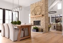 Two-sided fire place ideas