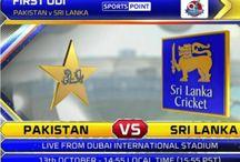 Pakistan vs Sri Lanka 1st ODI – Live Streaming - 13 October 2017
