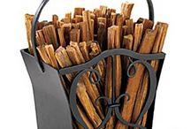 Fireplace & Fireside Accessories / Outdoor fireplace and fireside accessories to accent the home & garden.